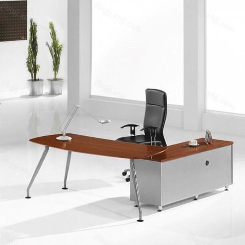现代简约时尚办公老板桌经理桌09