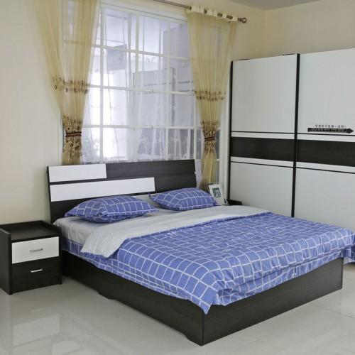 简约现代经济型卧室组装01