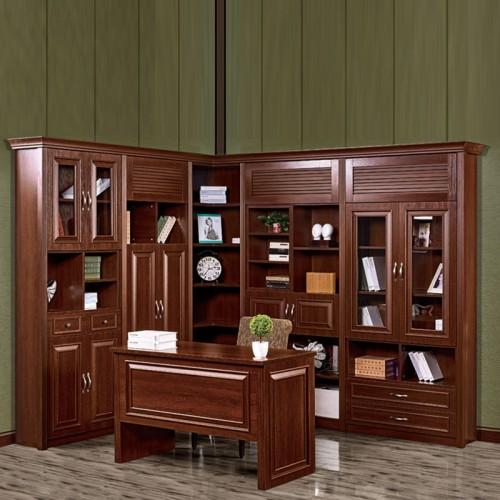 书柜书架书桌 书房组合家具03