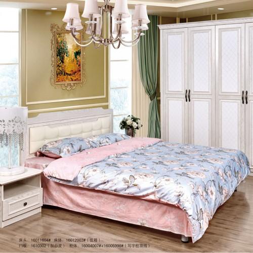 汉德白色卧室家具16012003