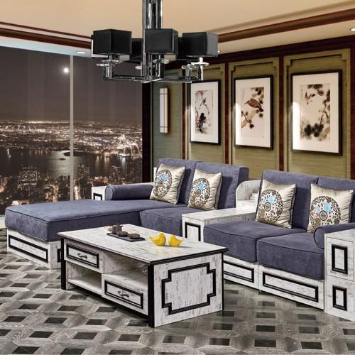 新中式沙发 茶几可定制