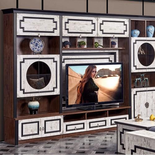 可定制新中式客厅家具