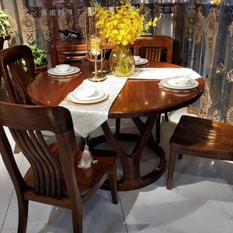 黄金檀木家具。