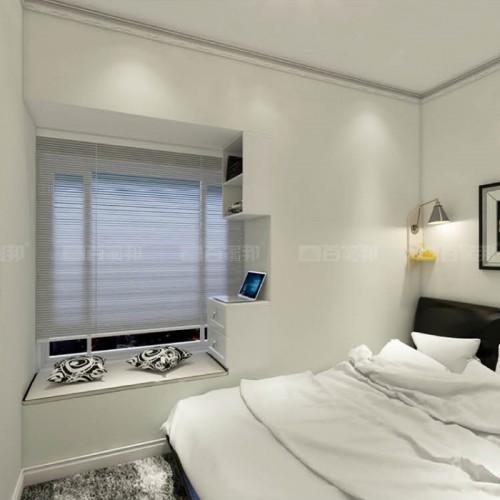 卧室白橡木飘窗柜BJB-014