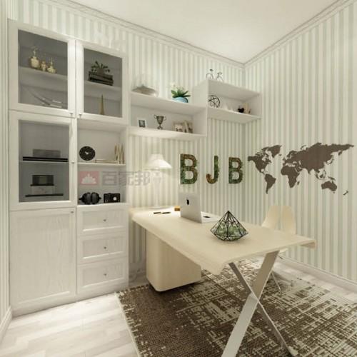 百家邦全铝白橡木储物柜BJB-002
