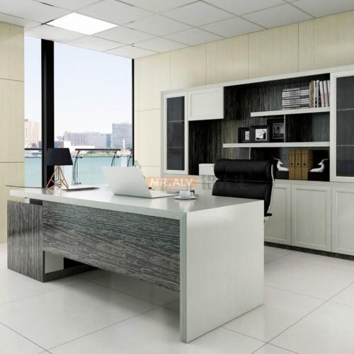 全铝办公老板桌文件柜MRALV-M10