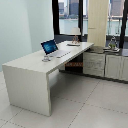 全铝办公总裁桌老板桌MRALV-M09