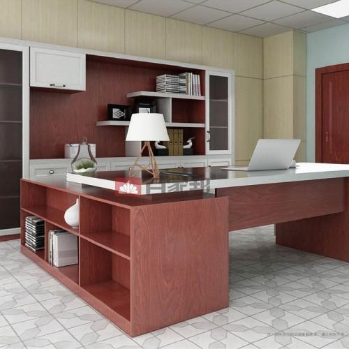 红柚木白橡木结合全铝办公BJB-M02