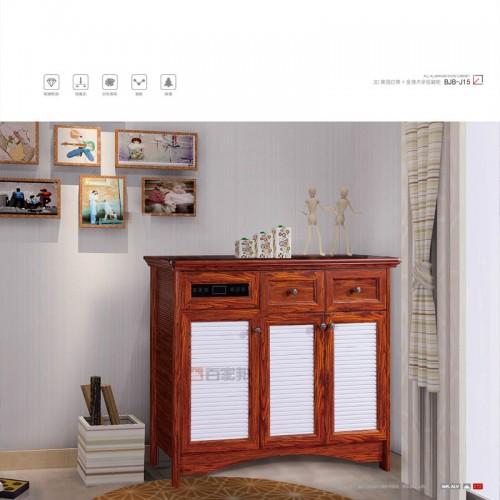 3D英国白橡加金橡木全铝鞋柜BJB-J15