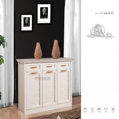 白橡木全铝鞋柜BJB-J09
