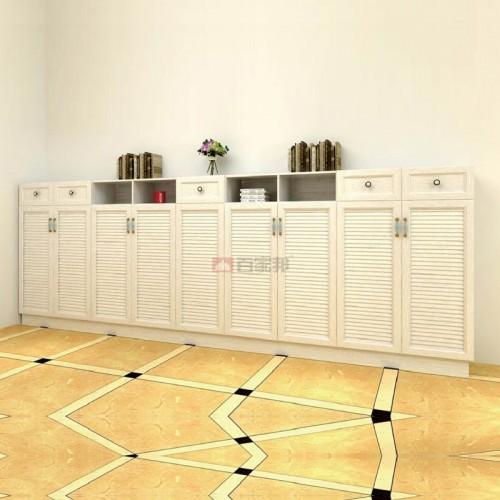 白橡木全铝鞋柜BJB-J02