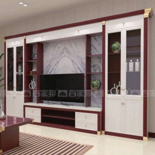 客厅组合全铝电视柜背景柜03