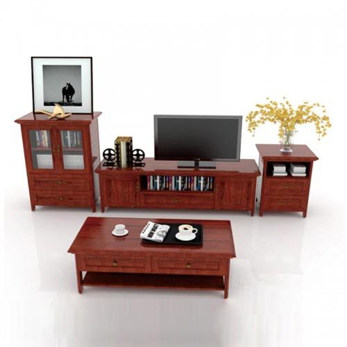 全铝客厅简易组合电视柜04