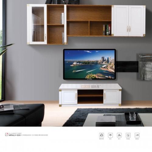 金丝柚加3D英国白橡全铝电视柜MRALV-G30