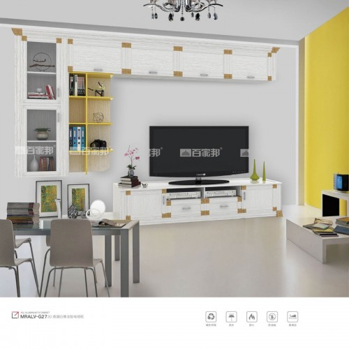 3D英国白橡全铝电视柜MRALV-G27
