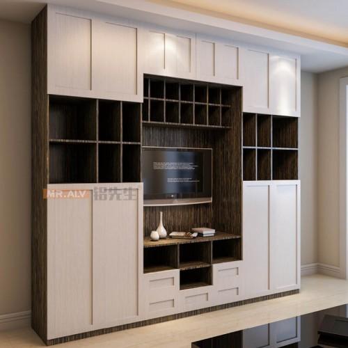 3D英国白橡全铝电视柜MRALV-G24