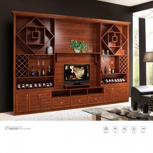 客厅金橡木全铝电视柜BJB-G20