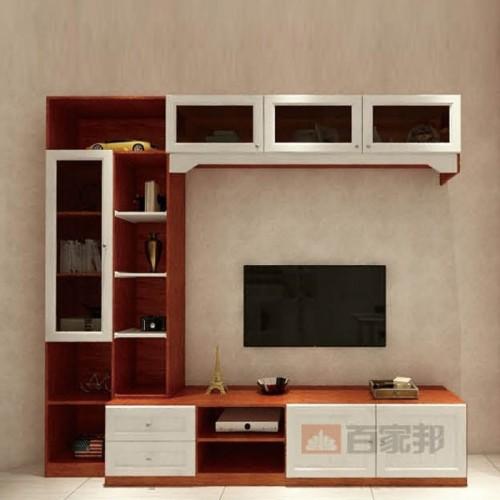 金橡木白橡木结合全铝电视柜BJB-G16