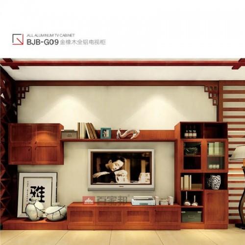 时尚金橡木全铝电视柜BJB-G09