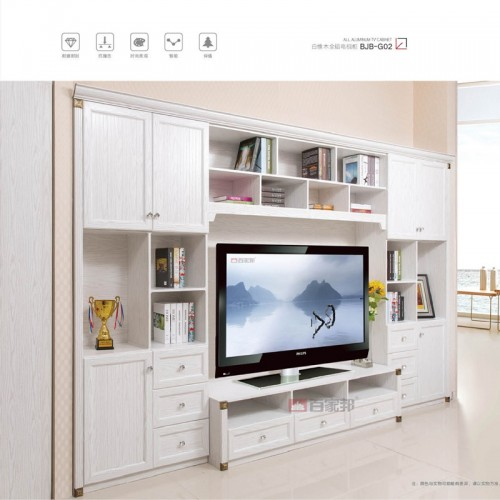 白橡木全铝电视柜BJB-G02
