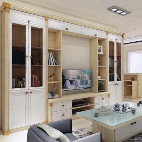 英国白橡全铝组合电视柜储物柜06