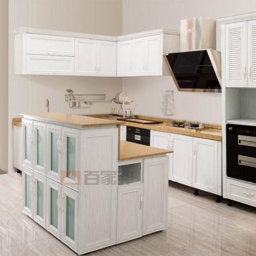 白橡木全铝橱柜BJB-A02