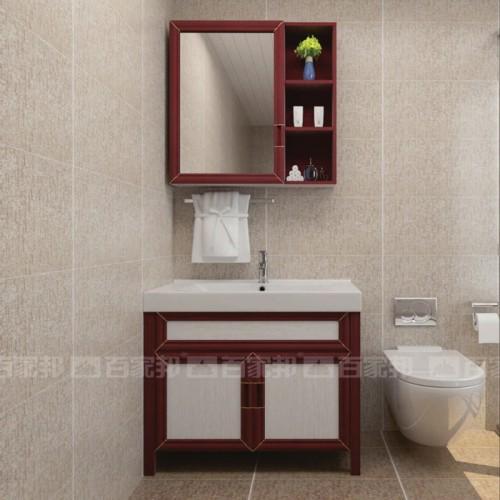 现代简约全铝浴室柜06