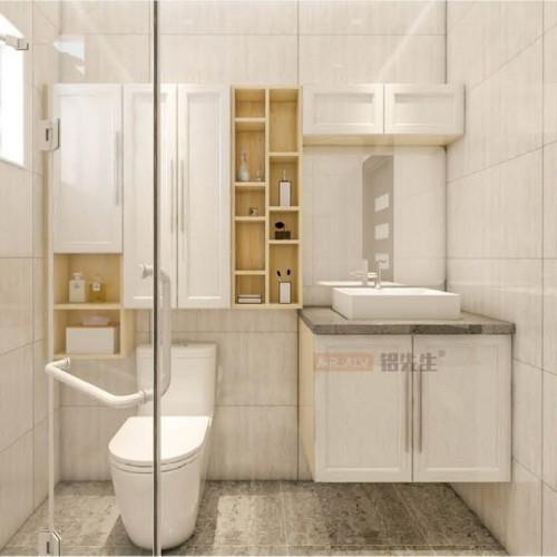 法国丝柚3D英国白橡全铝浴室柜MRALV-F45