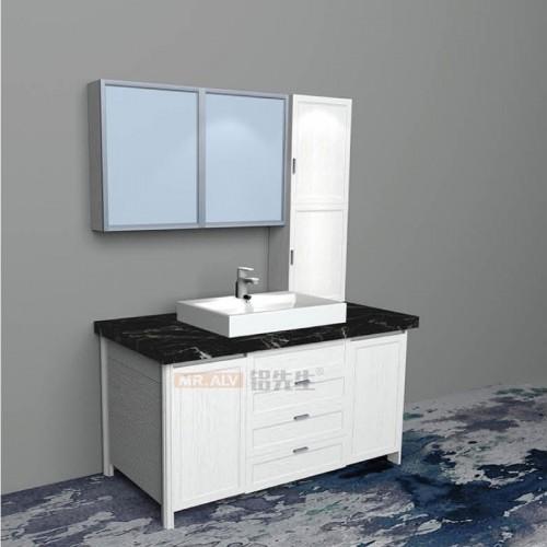 现代3D英国白橡全铝浴室柜BJB-F42