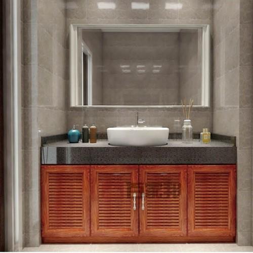 金橡木全铝浴室柜浴室镜BJB-F30