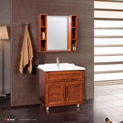 金橡木全铝落地浴室柜BJB-F07