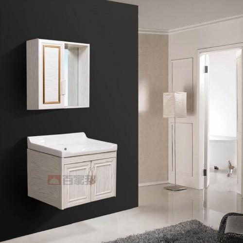 白橡全铝浴室柜BJB-F05