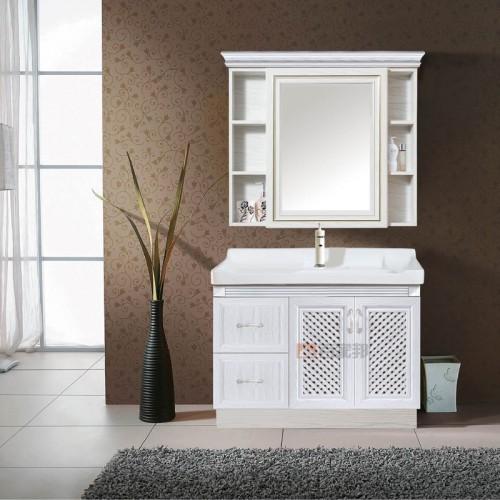 白橡木全铝浴室柜BJB-F03