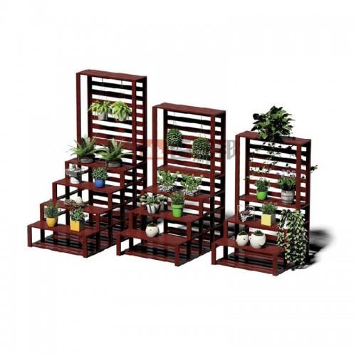 红柚木全铝阶梯花槽BJB-D35