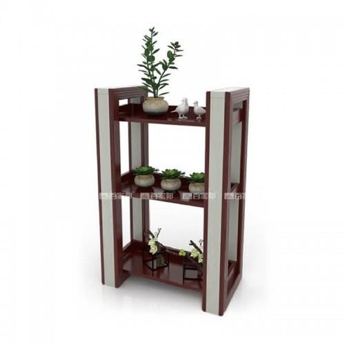 红柚木白橡木组合全铝花槽BJB-D14