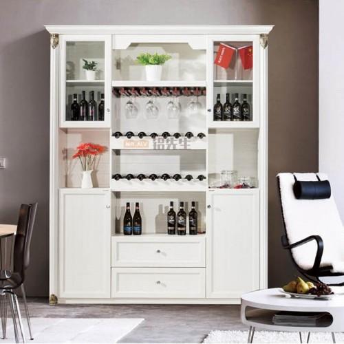 简约3D英国白橡全铝酒柜MRALV-C29