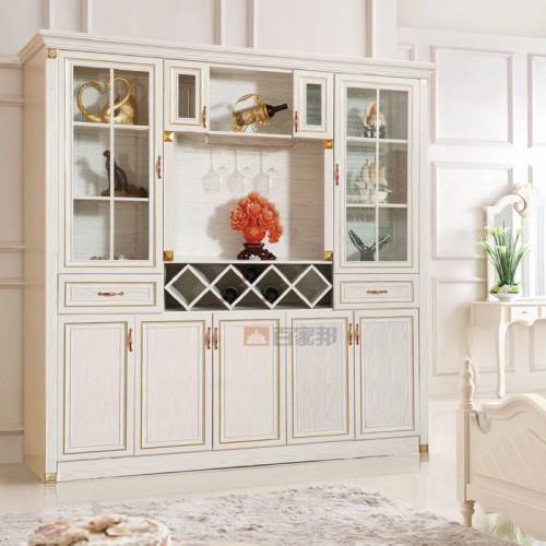 白橡木全铝酒柜装饰柜BJB-C09