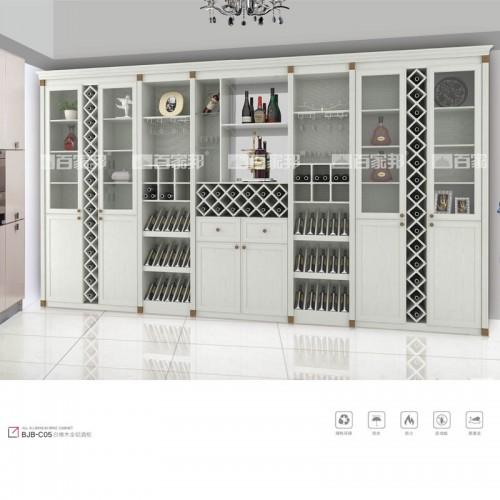白橡木全铝组合酒柜展示柜BJB-C05