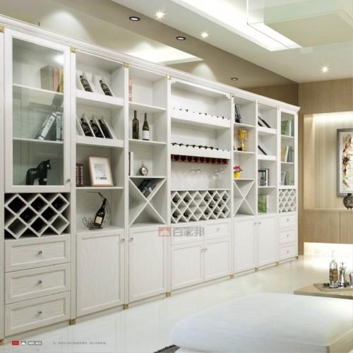 白橡木组合全铝酒柜BJB-C01