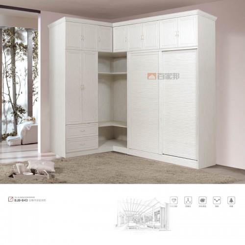 白橡木全铝组合衣柜MRALV-B43