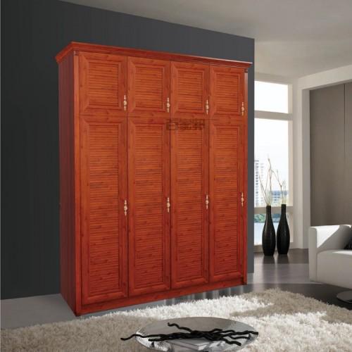 金橡木全铝对开门衣柜BJB-B38