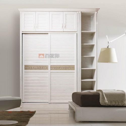 简易白橡木全铝衣柜BJB-B37