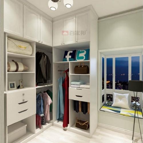 白橡木全铝衣柜BJB-B15
