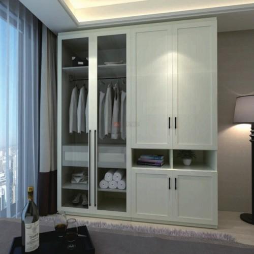 简约现代卧室整板衣柜03