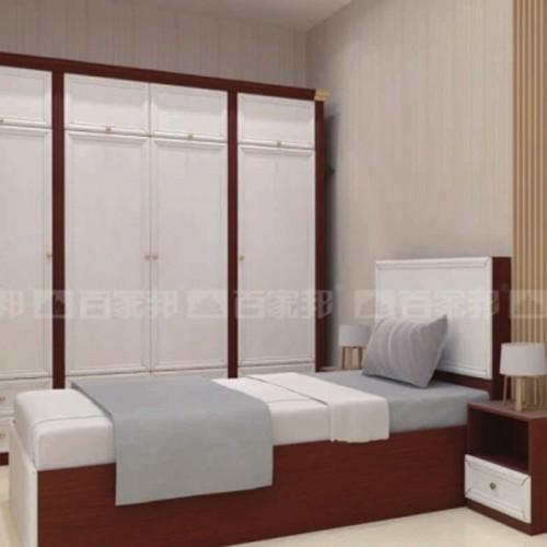 现代简约卧室五门衣柜05