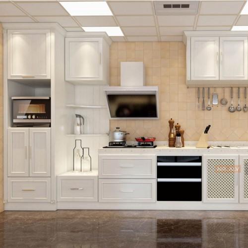 3D英国白橡全铝橱柜MRALV-A42