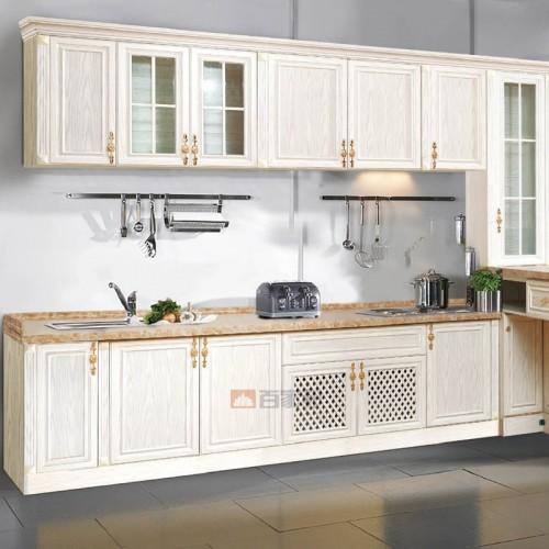 白橡木简易全铝橱柜BJB-A32