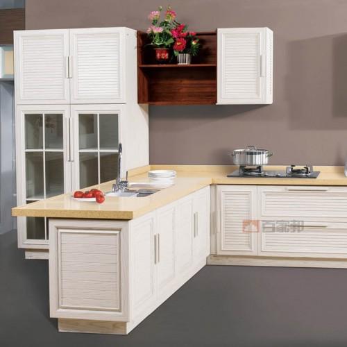 白橡木简易全铝橱柜BJB-A31