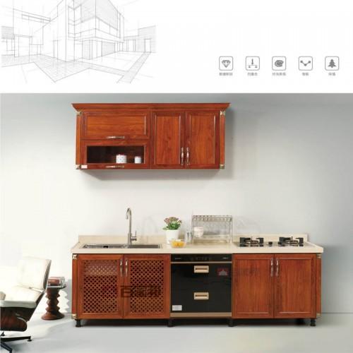 简易金橡木全铝橱柜BJB-A16