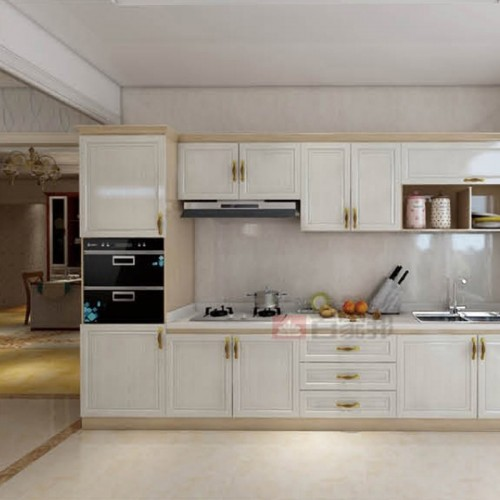 白橡木加黄檀木全铝橱柜BJB-A14